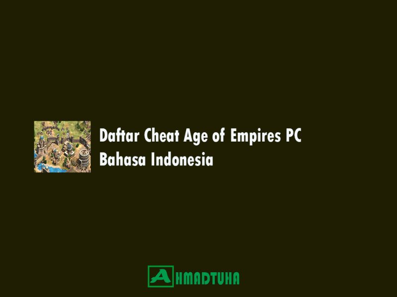 Cheat Age of Empires PC